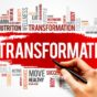 A Graphic Image of the word Transformation